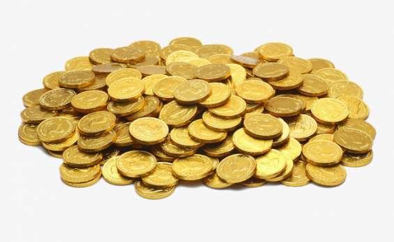 Monedas antiguas de oro 24 kilates,