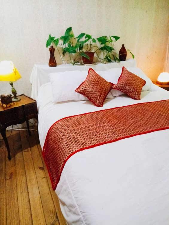 Pieceras para cama plaza y media, 2 plazas y king.