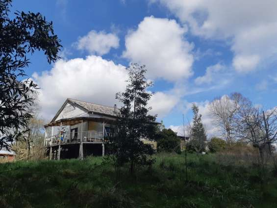 Aguatierra sur /arrienda parcela con casa