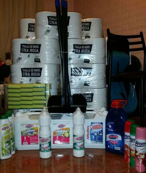 Todo a su hogar, empresa, negocio, industria en productos de aseo e higiene. pídalo !!!