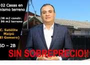 C053 Casa en venta en Ciudad Satelite Maipu - El Gomero 6