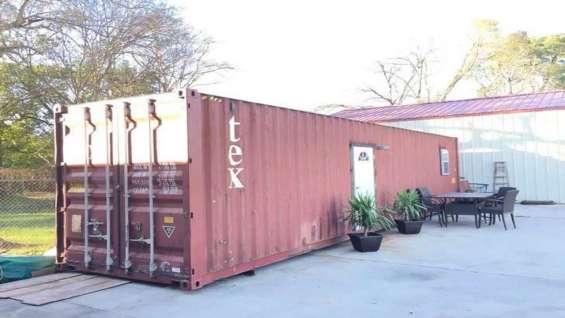 Oferta contenedores maritimos y modulares