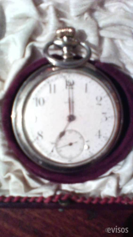Reloj de bolsillo marca omega de plata antiguo