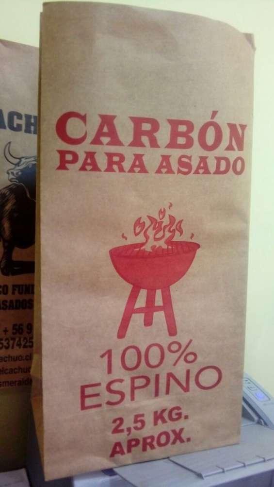 Bolsas papel para envasar carbon