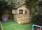 Casas y juegos de madera rústicas  para niños