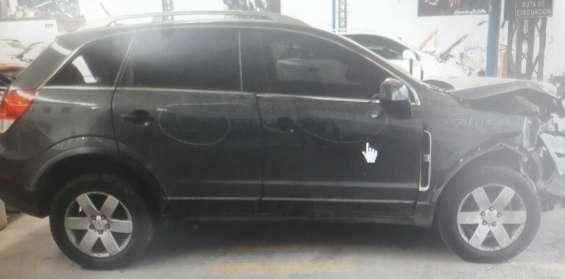 Chevrolet captiva 2012 en desarme