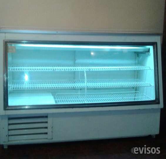 Mesón vitrina refrigerado