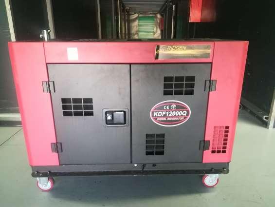 Generador electrico insonoro diesel 12 kva