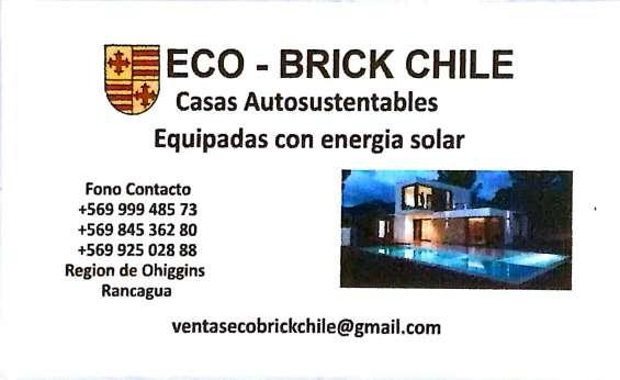 Construimos casas autosustentables