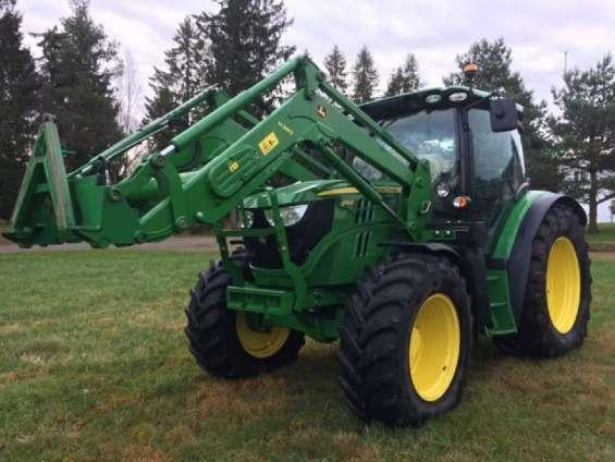 Ofrezco tractor john deere 6115r con cargador