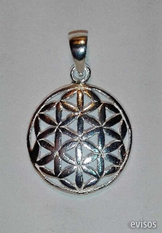 Flor de la vida plata simbolos merced 738 l.211