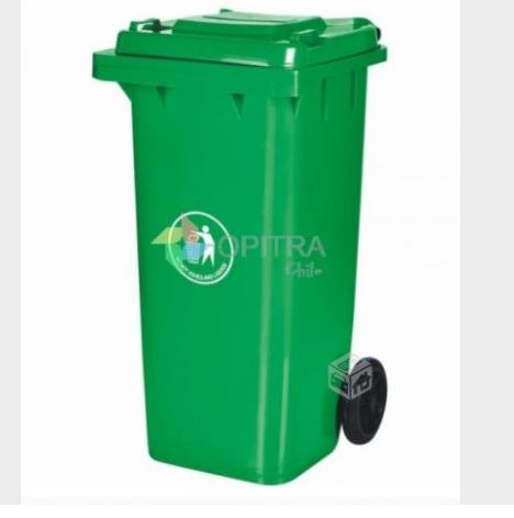 Basurero ecológico contenedor 120 litros