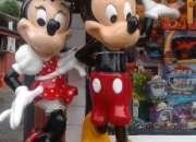 Figuras gigantes mickey y minnie