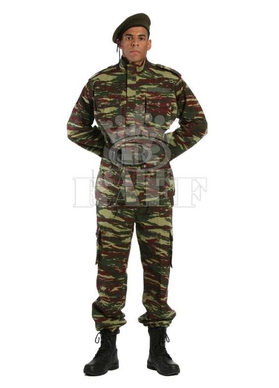 Artículos militares, uniformes militares