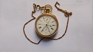 Reloj gerard perragaux de bolsillo