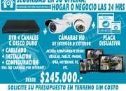 4 cámaras de seguridad hd 1.3mpx cctv