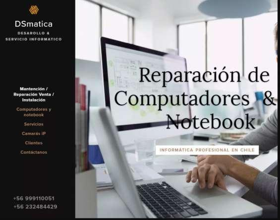 Reparación notebook, técnicos a domicilio