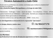 Tecnicoautomotrizprofesional de caidad..