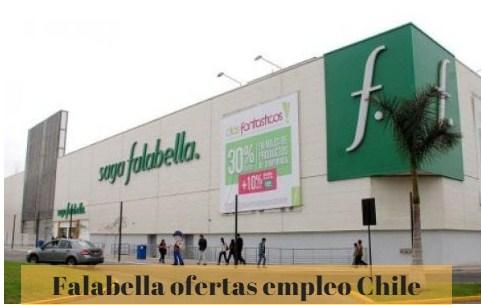 Grupo falabella – más de 30 ofertas de trabajo en chile