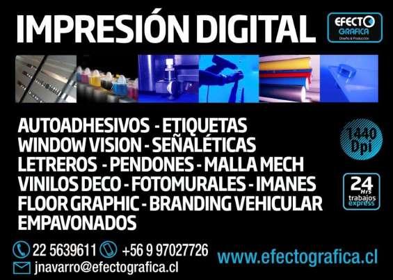 Servicio de impresion digital