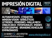 SERVICIO DE IMPRESION DIGITAL Y PLOTER DE CORTE