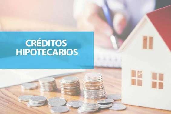 Creditos hipotecarios y de consumo