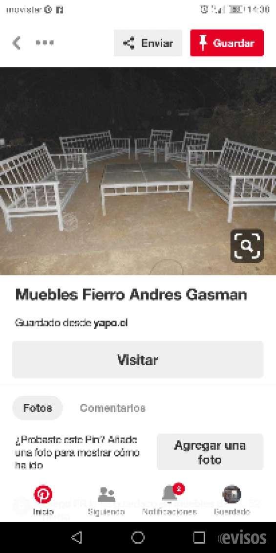 Fotos de Muebles fierro terraza   andres gasman 8