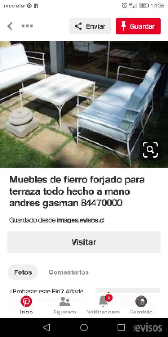 Fotos de Muebles fierro terraza   andres gasman 11
