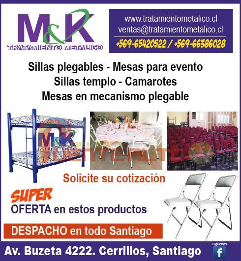 Fotos de Sillas,mesas,camarotes,camas 1