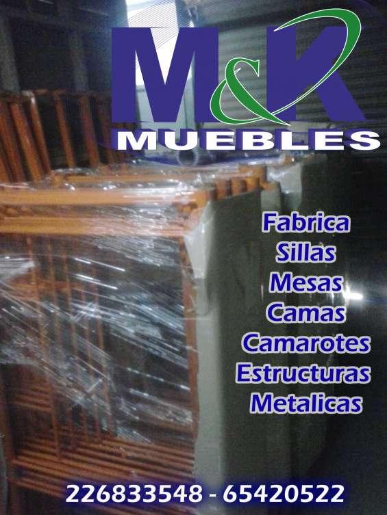 Fotos de Sillas,mesas,camarotes,camas 4