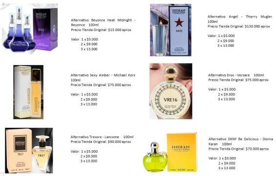 Fotos de Perfumes alter mujer 8