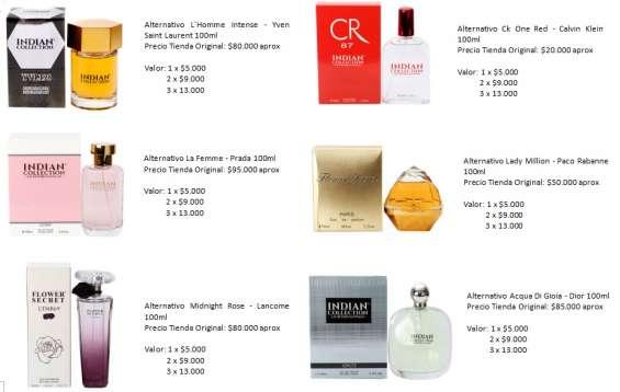 Fotos de Perfumes alter mujer 1