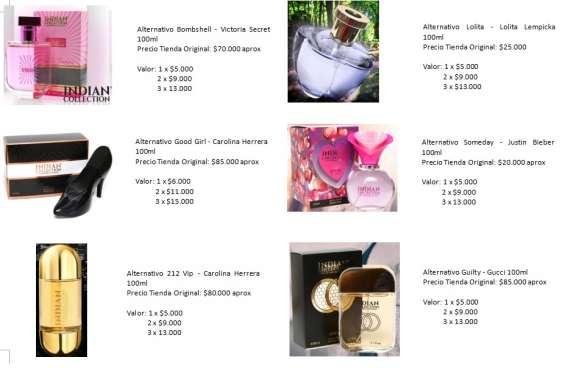 Fotos de Perfumes alter mujer 5