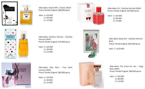 Fotos de Perfumes alter mujer 2