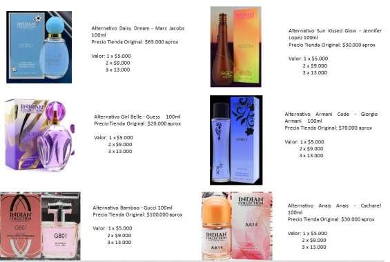 Fotos de Perfumes alter mujer 9