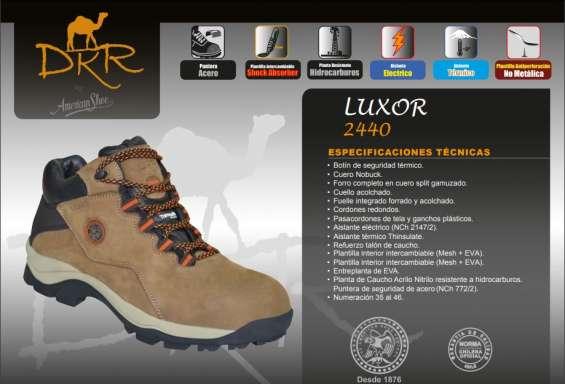 Zapatos de seguridad dkr luxor 2440 nuevos