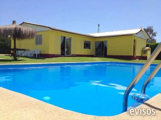 Casa con piscina en olmue