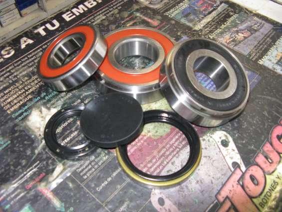 Rodamientos y retenes caja de cambios ford ranger