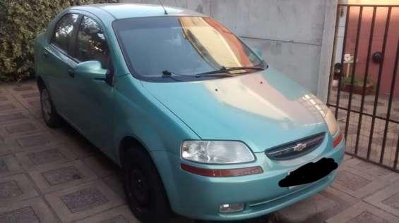Auto siniestrado aveo 2006