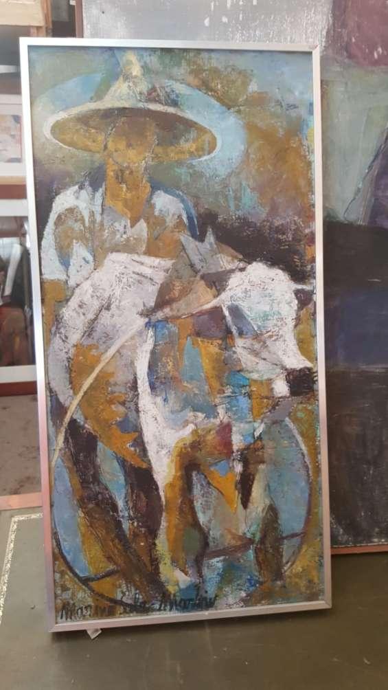 Compro pintura cilena y europea