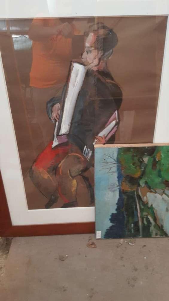 Fotos de Compro pintura cilena y europea 3