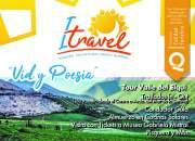 """Tour valle de elqui """"vid y poesía"""""""