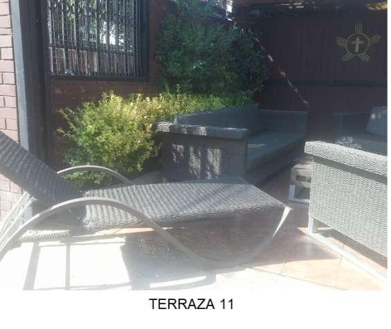 Mueble Terraza Ratan Rosen En Pedro Aguirre Cerda Muebles