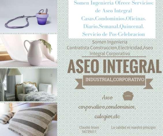 Fotos de Aseo integral casas,deptos,condominios,colegios,etc 4