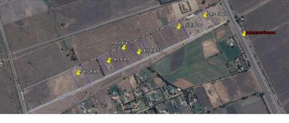 Terreno plano con cierres 5000 m2, cerca carretera panam. norte - lampa