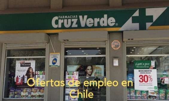 Farmacias cruz verde – ofertas de trabajo en chile