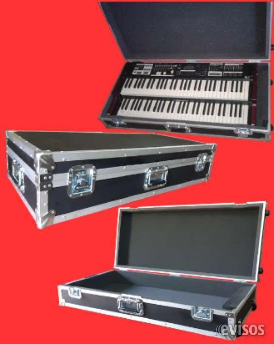 Case o maletas para guitarras, teclados, pedalcase, amplificadores, cabezales, gabinetes,