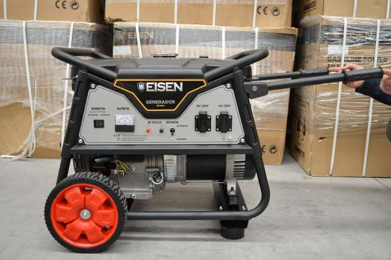 Generador eléctrico | bencinero | 7.500watts | eisen