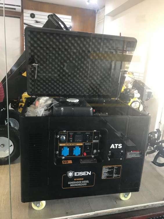 Generador eléctrico | diésel | 6,2kva | ats incluido | eisen