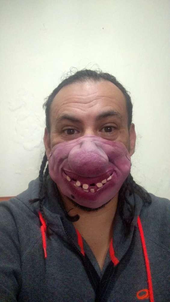 Mascaras de latex divertidas